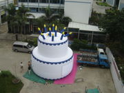 26'ft 8M Inflatable Promotion Advertise Anniversary Celebration Cake