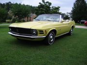 1970 Ford MustangConvertible 351 One NC owner from new to 2016